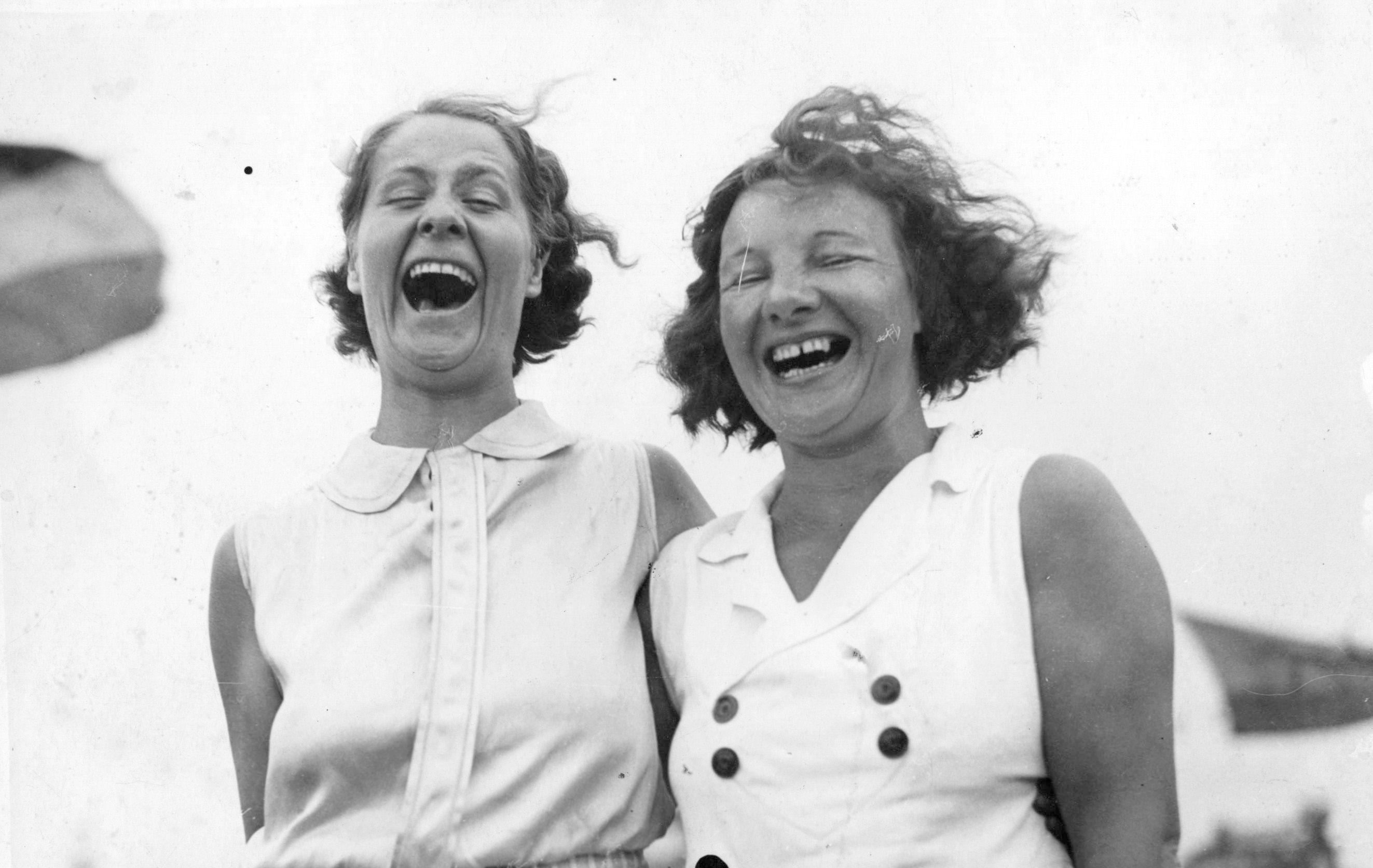 Sonrisa. Felicidad. Mujeres