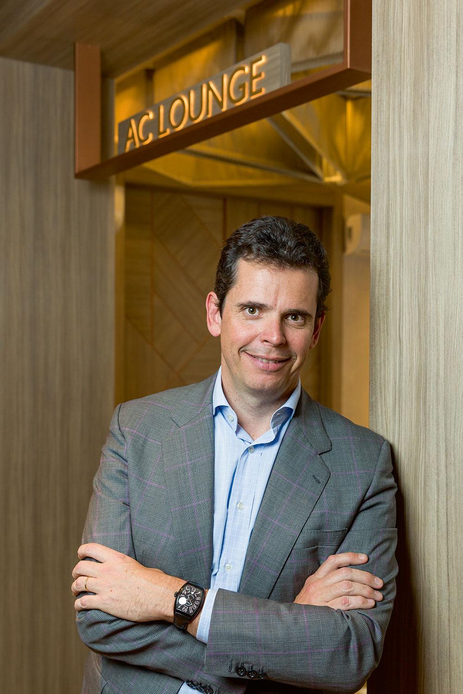 Carlos Catalán, vicepresidente de AC Hotels