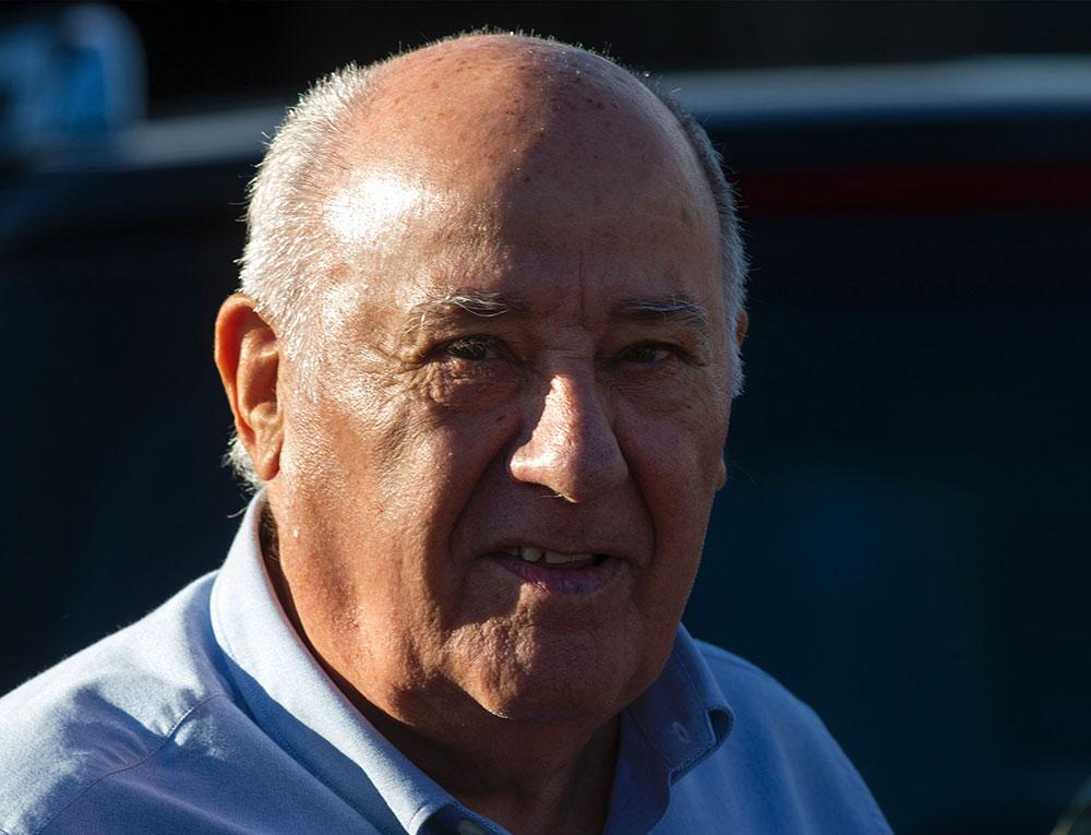 Amancio Ortega, fundador de Inditex.