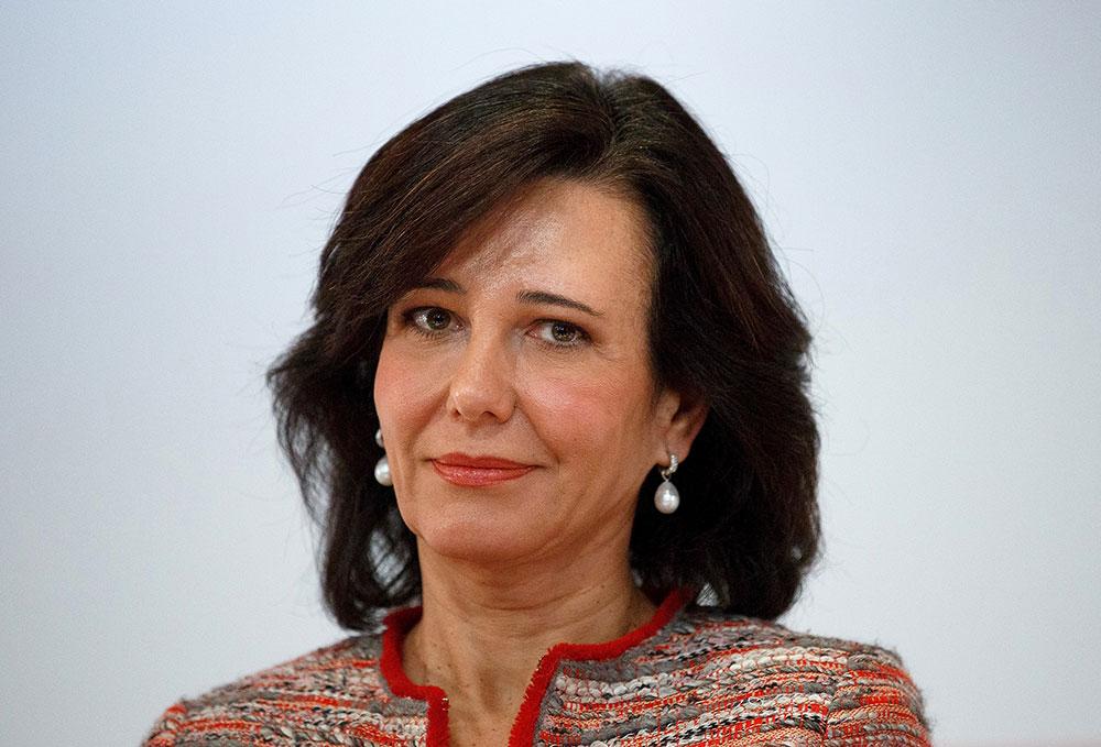 Ana Patricia Botín, presidenta de Banco Santander.