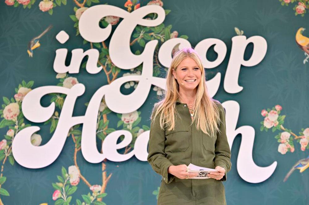 "Gwyneth Paltrow en ""In goop Health"" Summit Los Angeles 2019 (Getty Images)"