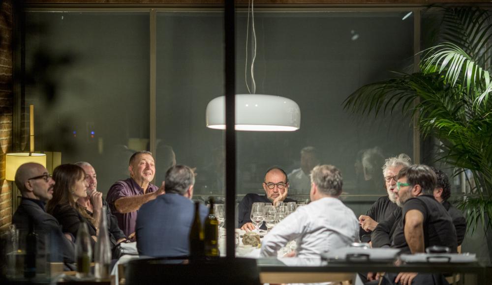 Historia de una mesa en El Celler de Can Roca