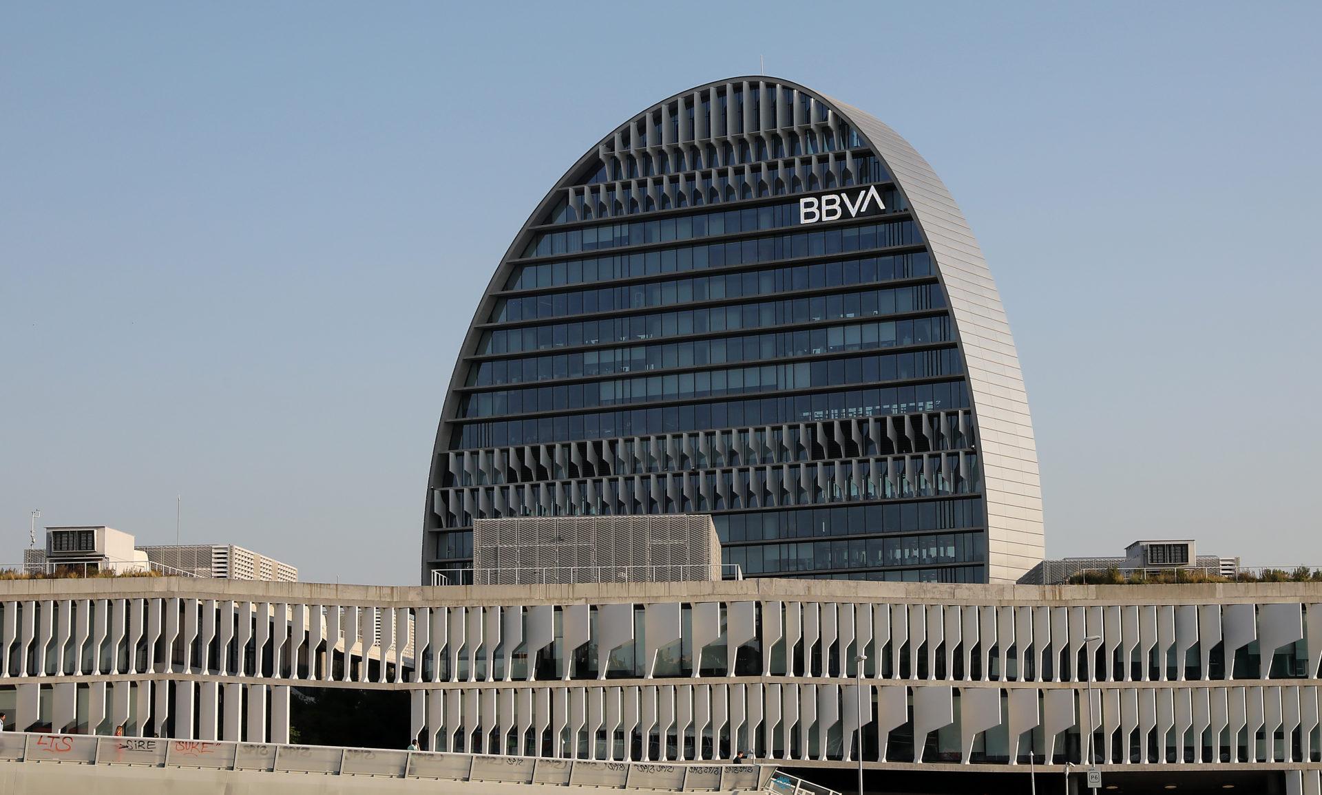 BBVA edificio La Vela en Madrid