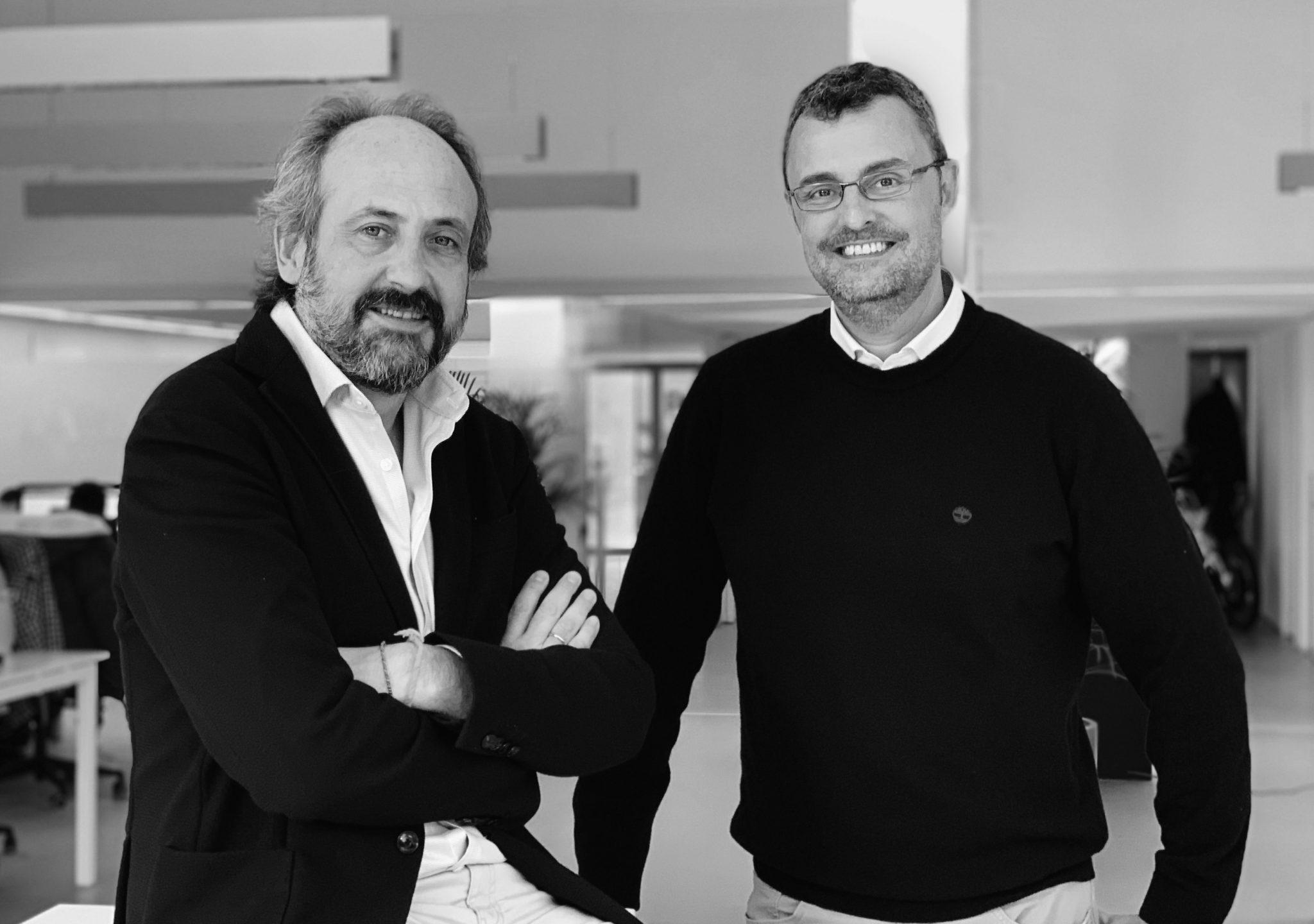 Álvaro Villarjubín, CEO de Padre Group, y Paco Ribera, managing director de September