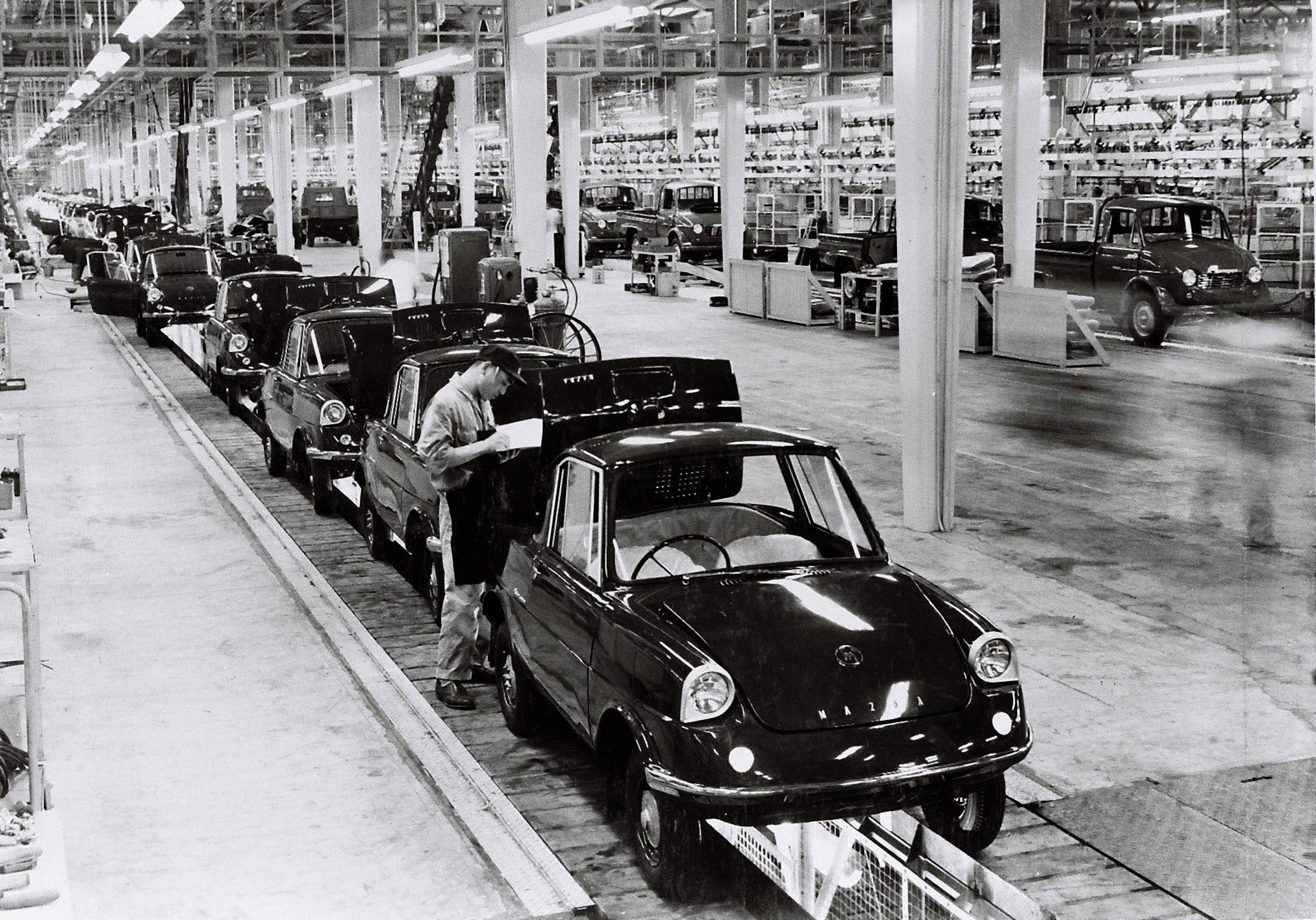 Fábrica de producción de Mazda