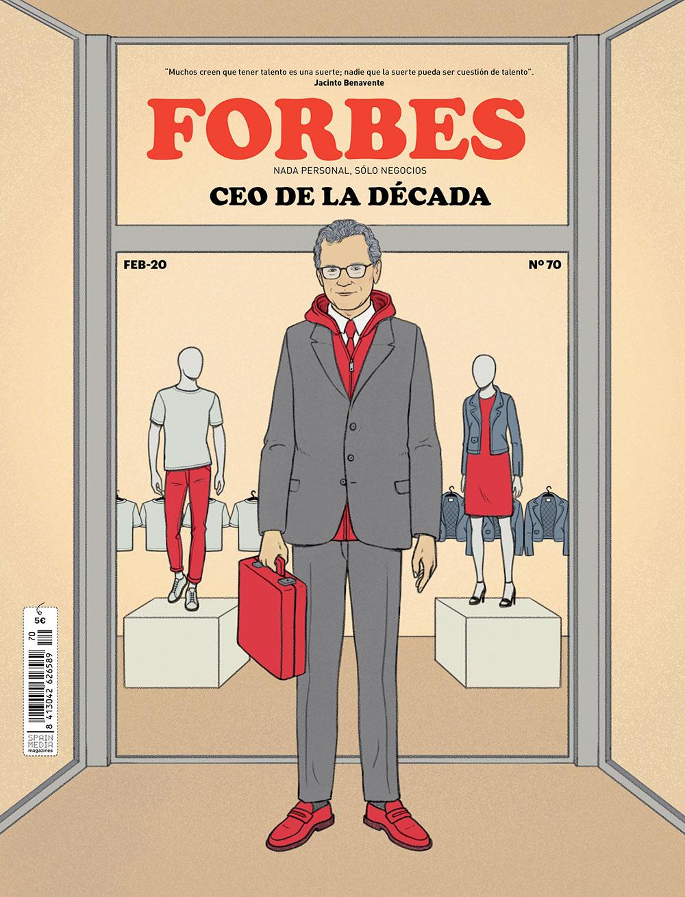 Portada Forbes CEO de la década Pablo Isla