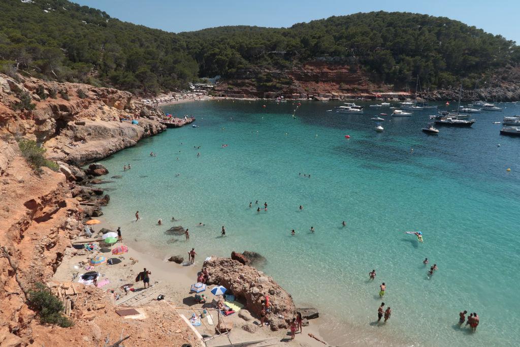 Playa Ibiza / Islas Baleares - Turismo extranjero