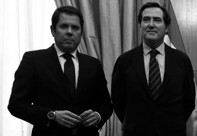 Gerardo Cueva Cepyme Antonio Garamendi CEOE