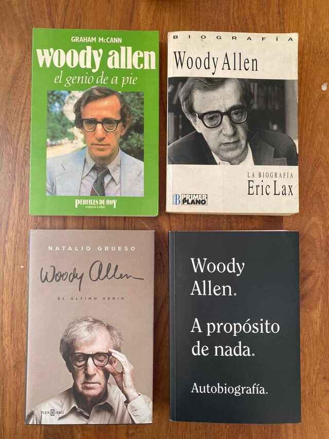 Allen a cuatro manos tres biografías y la suya