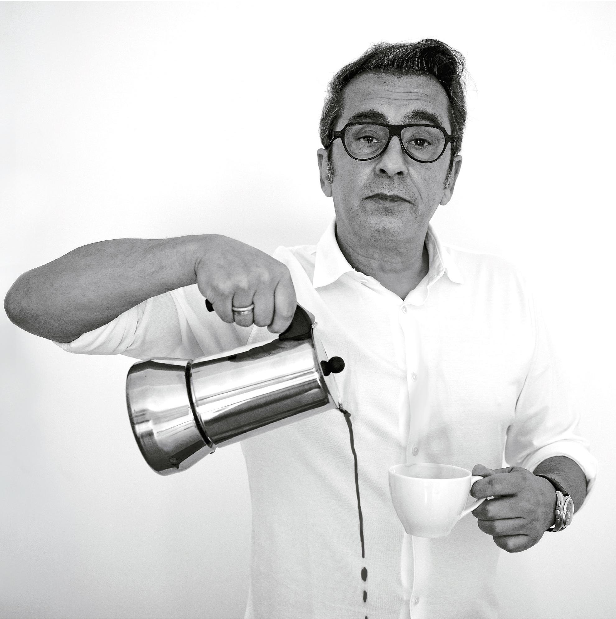 El presentador y cómico Andreu Buenafuente, portada de Tapas