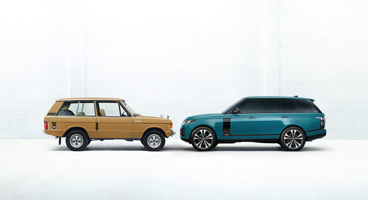 Range Rover 50 aniversario