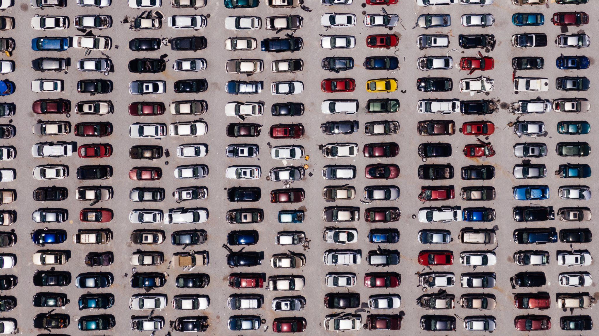 Parking vehículos coches aparcamiento