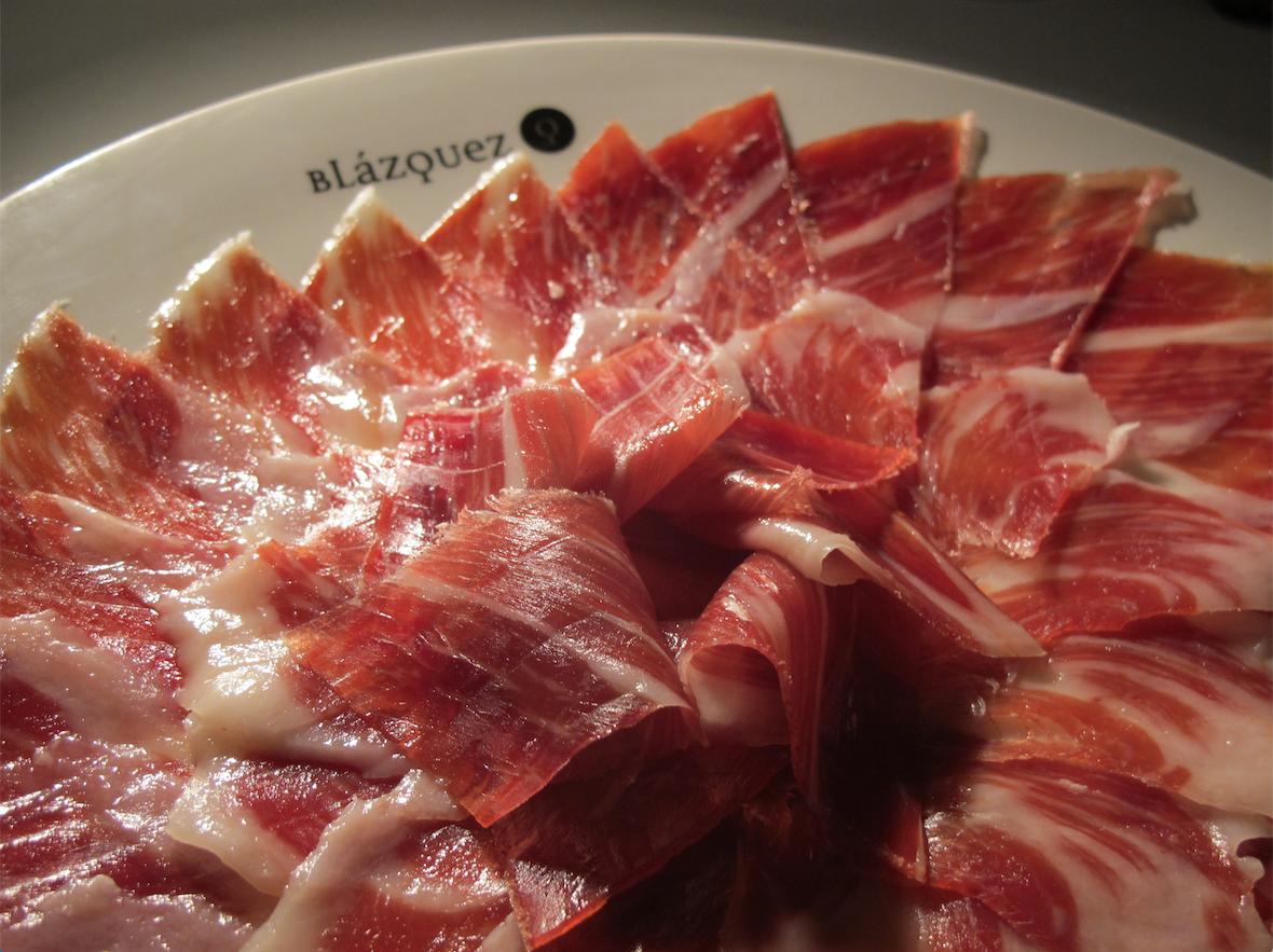Jamones Blázquez - Plato de jamón