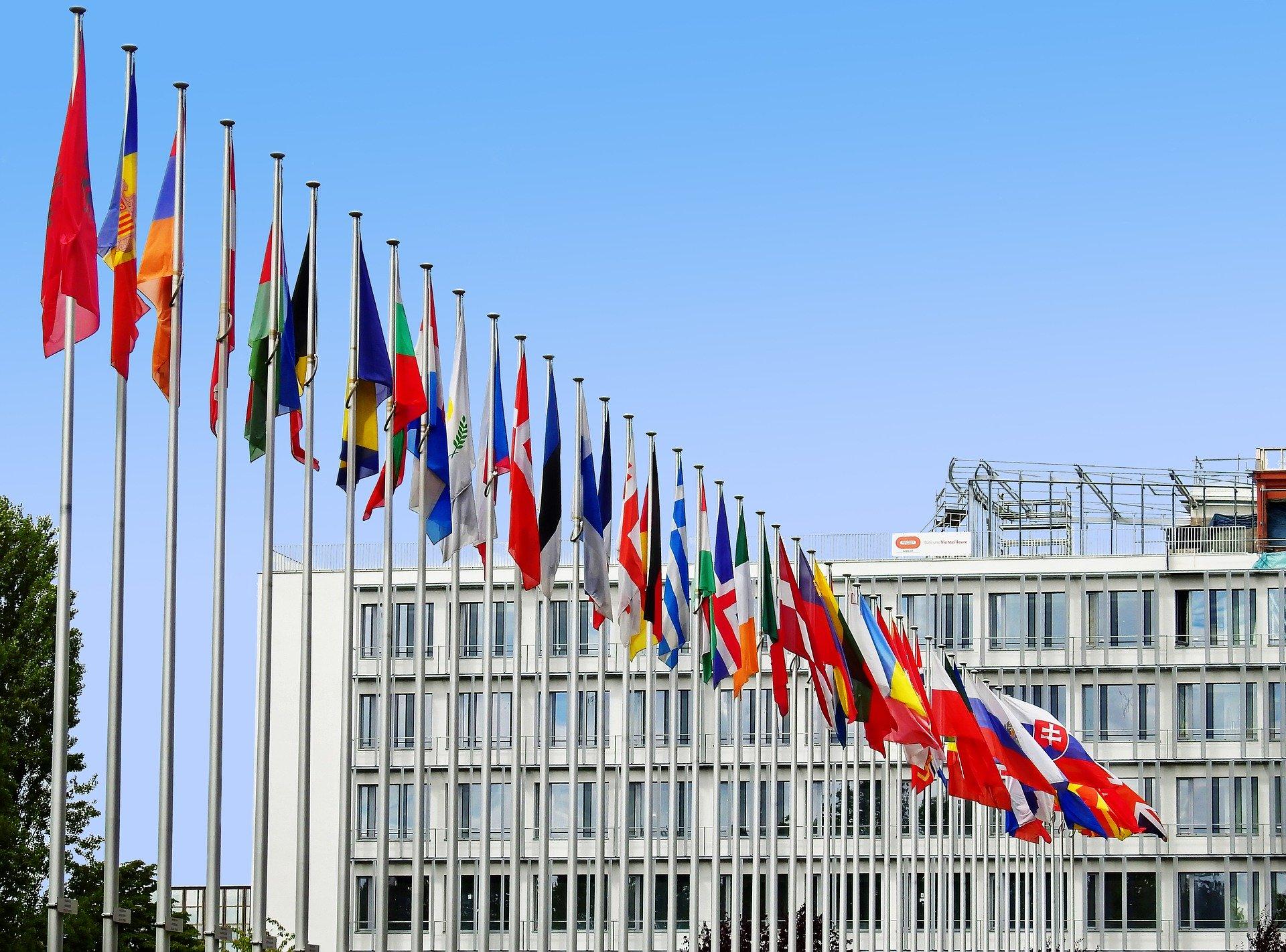 Banderas países Unión Europea