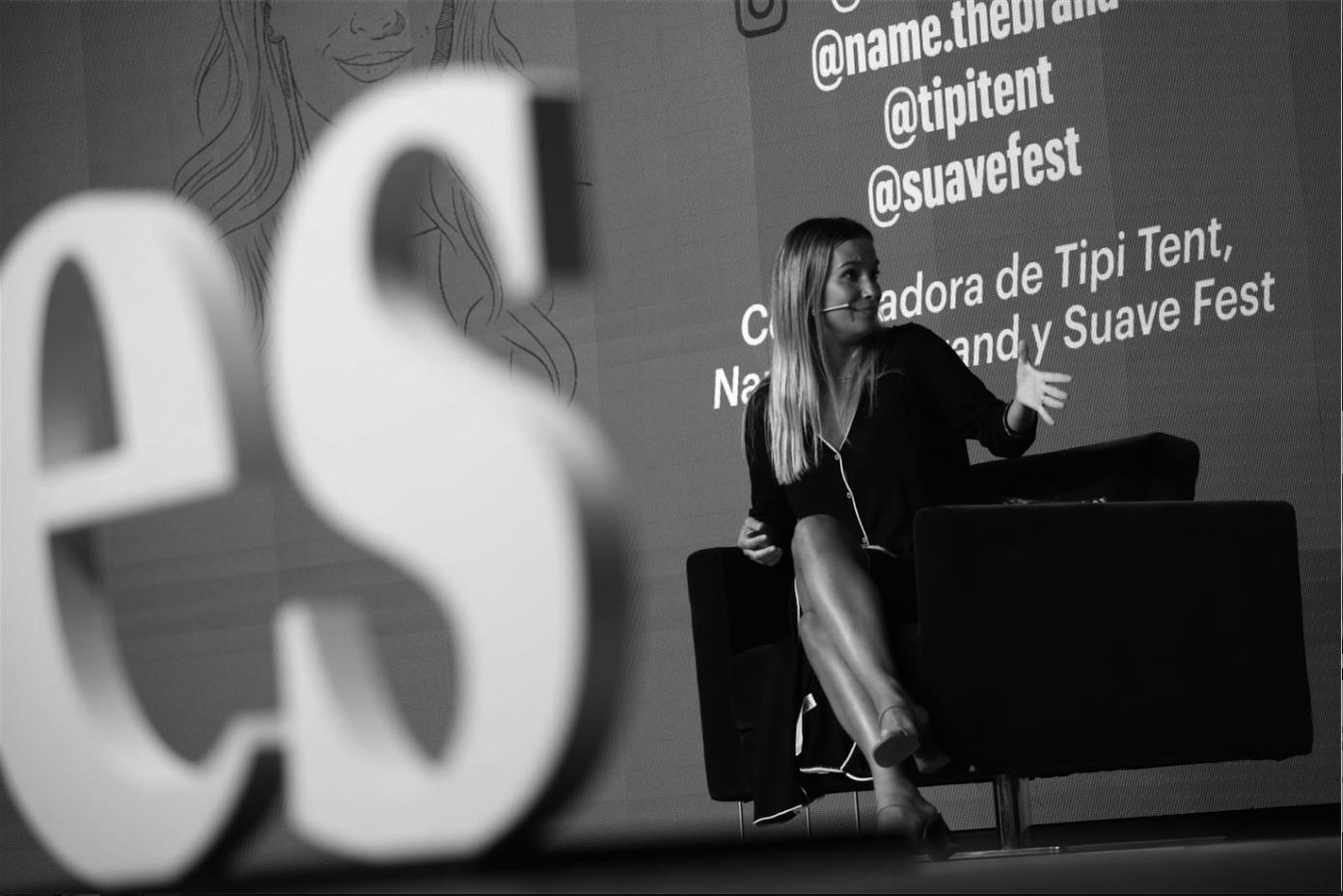 María Pombo, Cofundadora de Tipi Tent, Name The Brand y Suave Fest