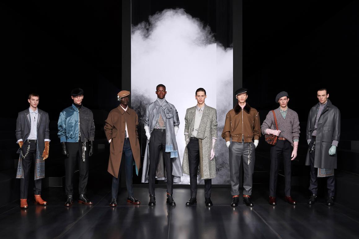 Desfile de la colección invierno 2020-2021 de Dior Men