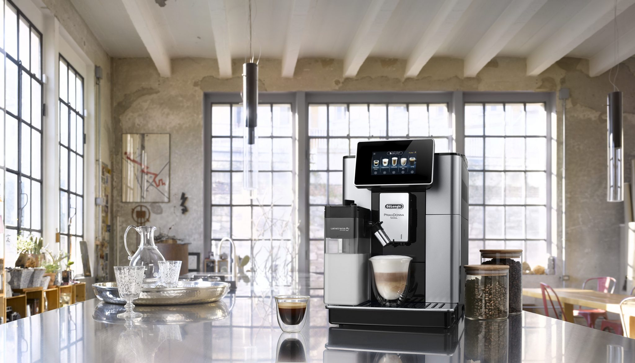 Cafetera superautomática PrimaDonna Soul de De'Longhi España