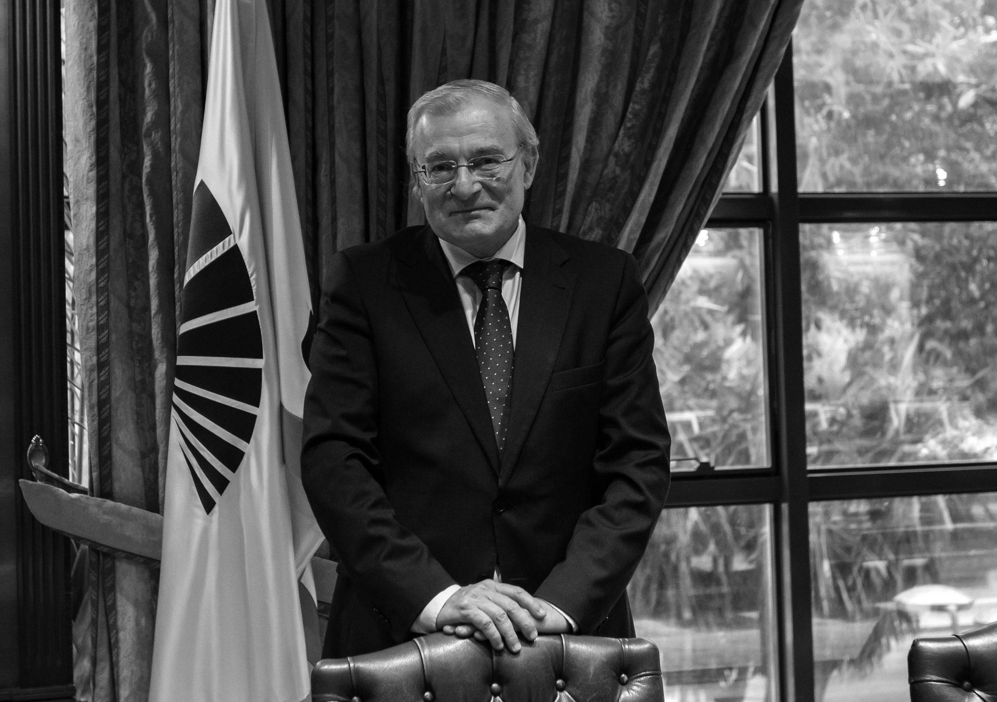 Manuel Azuaga, presidente de Unicaja Banco