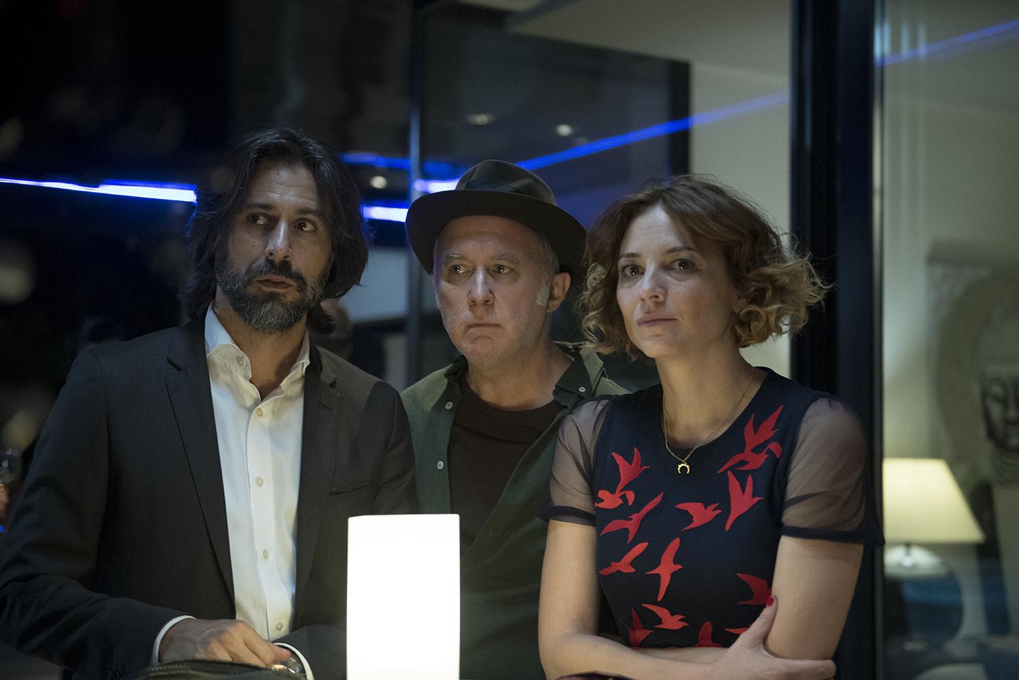 Hugo Silva, Leonor Watling y Luis Bermejo, protagonistas de 'Nasdrovia', serie original Movistar+