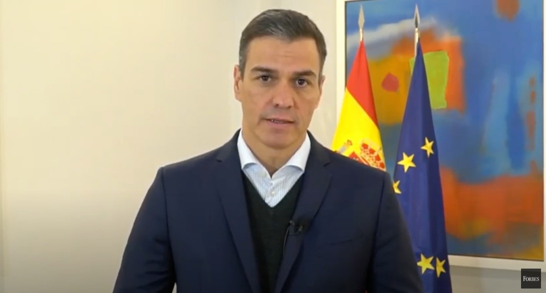 Pedro Sánchez en Forbes Summit Reinventing Spain