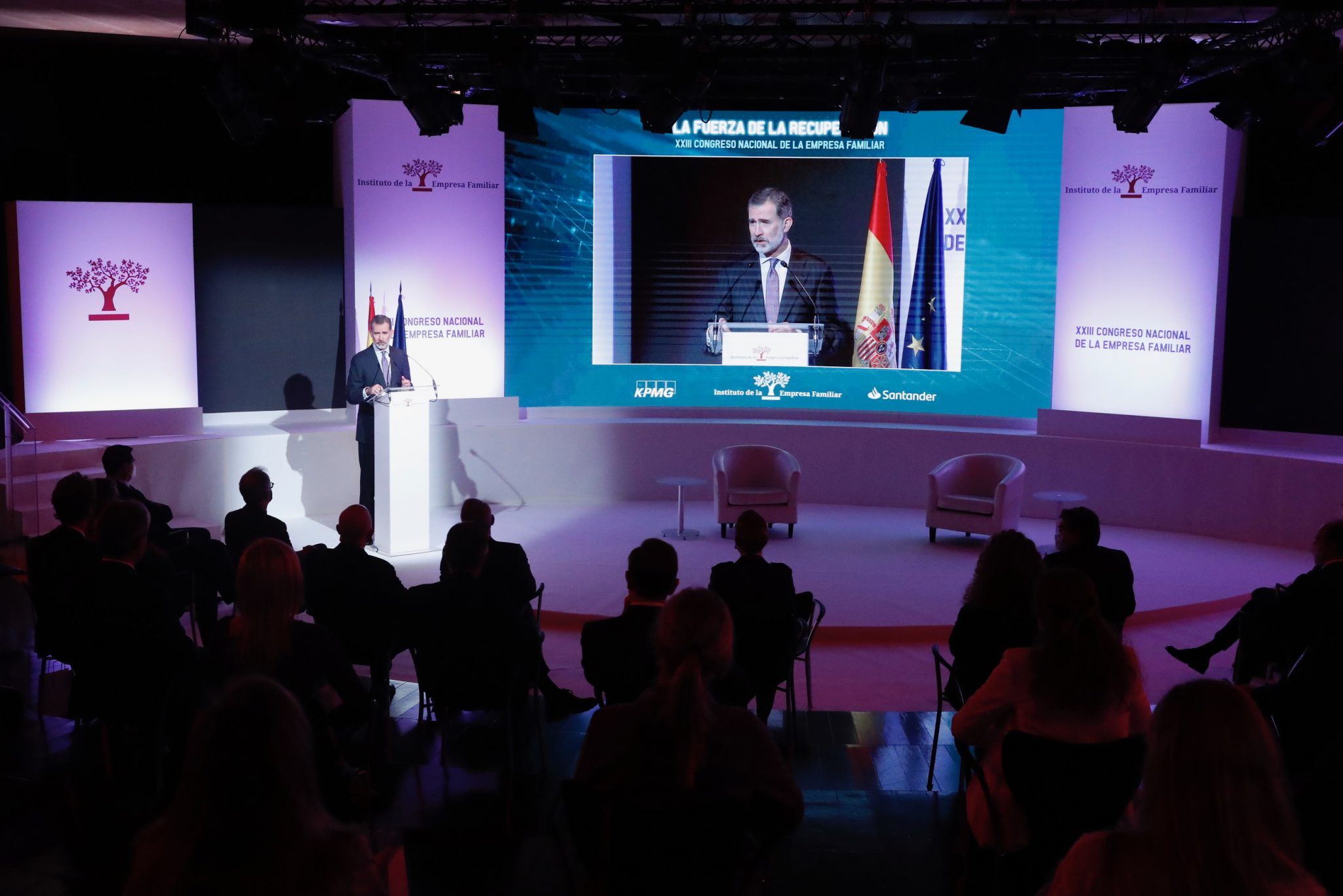 Su Majestad el Rey Felipe VI inaugura el XXIII Congreso Nacional de la Empresa Familiar