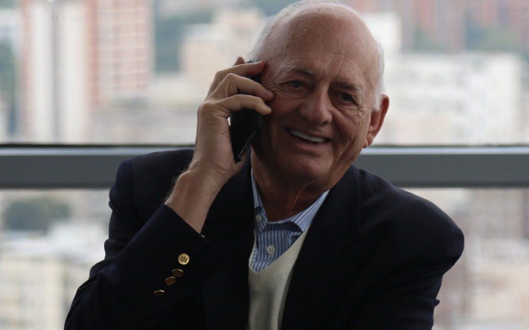 Oswaldo Cisneros, socio mayoritario de Digitel