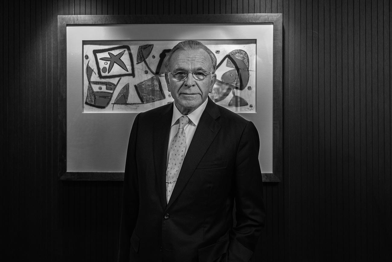 """Isidro Fainé, presidente de Fundación """"la Caixa"""", recibió en 2018 el premio Forbes a la Filantropía."""