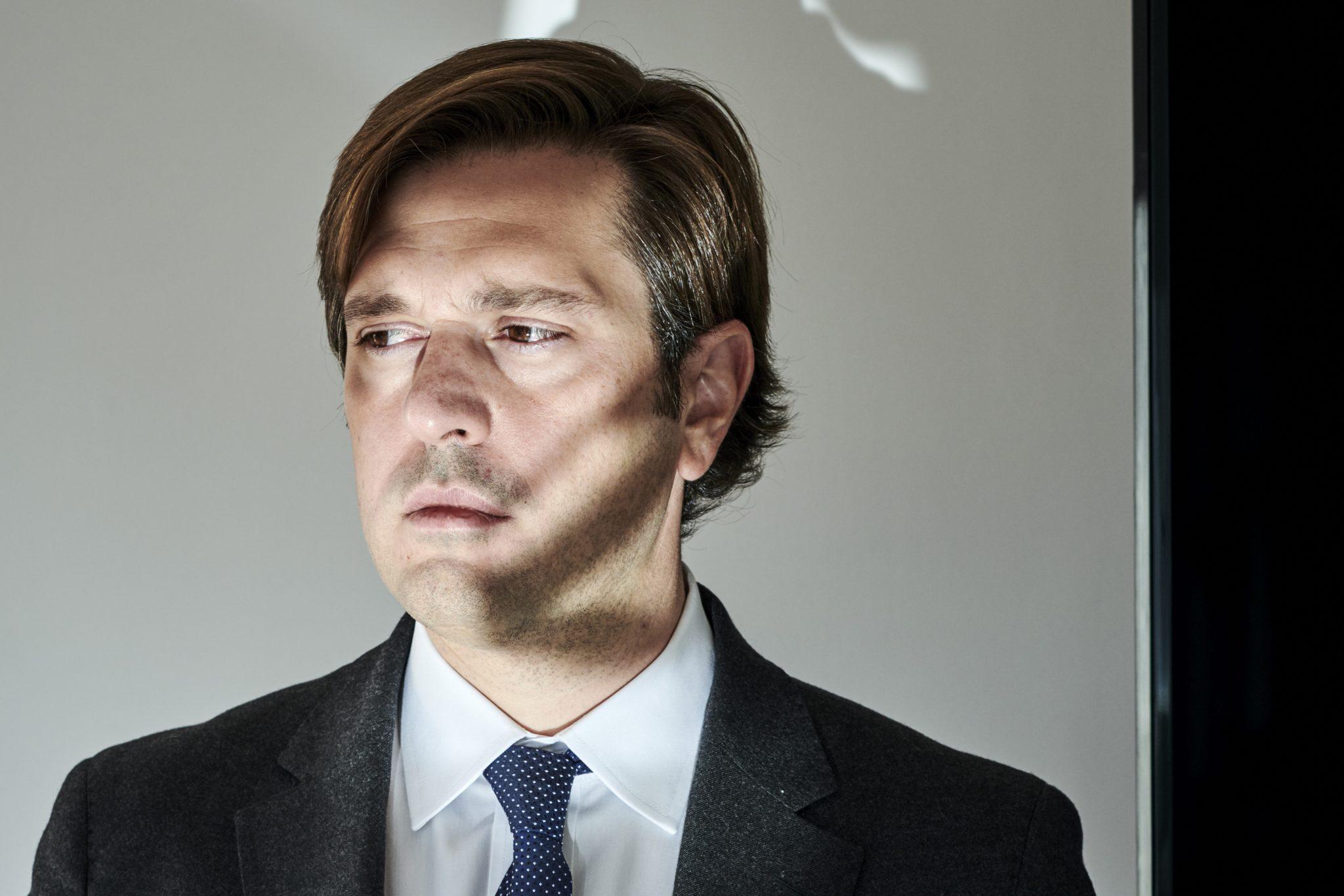 Julen Ariza, director de Dircomfidencial y CEO de Hadoq. Foto: Antón Goiri