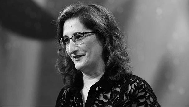 María Paz Robina, directora general de Michelin España Portugal, durante la gala de entrega de premios de la Guía Michelin España y Portugal 2021