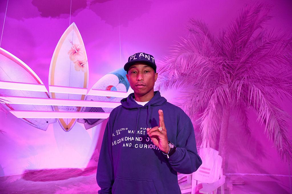 Pharrell lanza una aceleradora para emprendedores negros y latinos