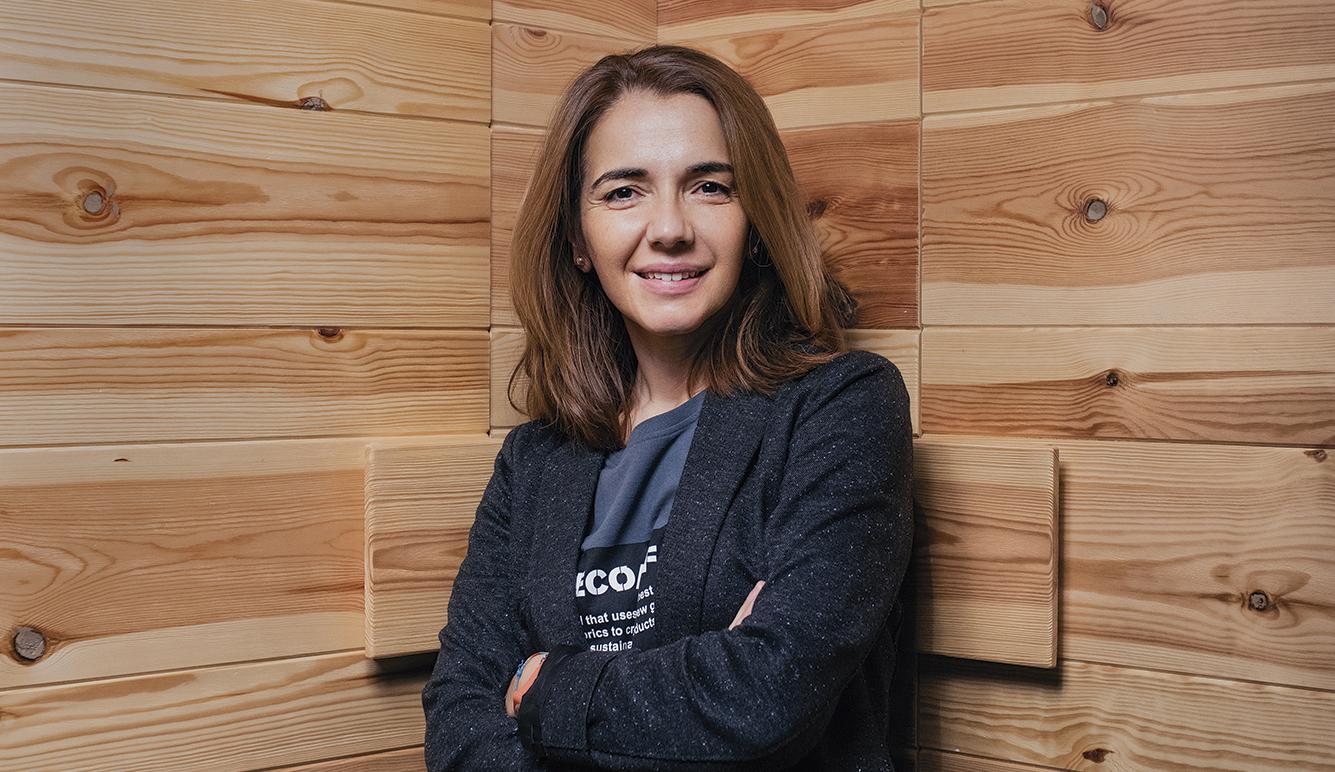 Nieves Rey, directora de Comunicación de Ecoembes. Foto: Pablo Tribello