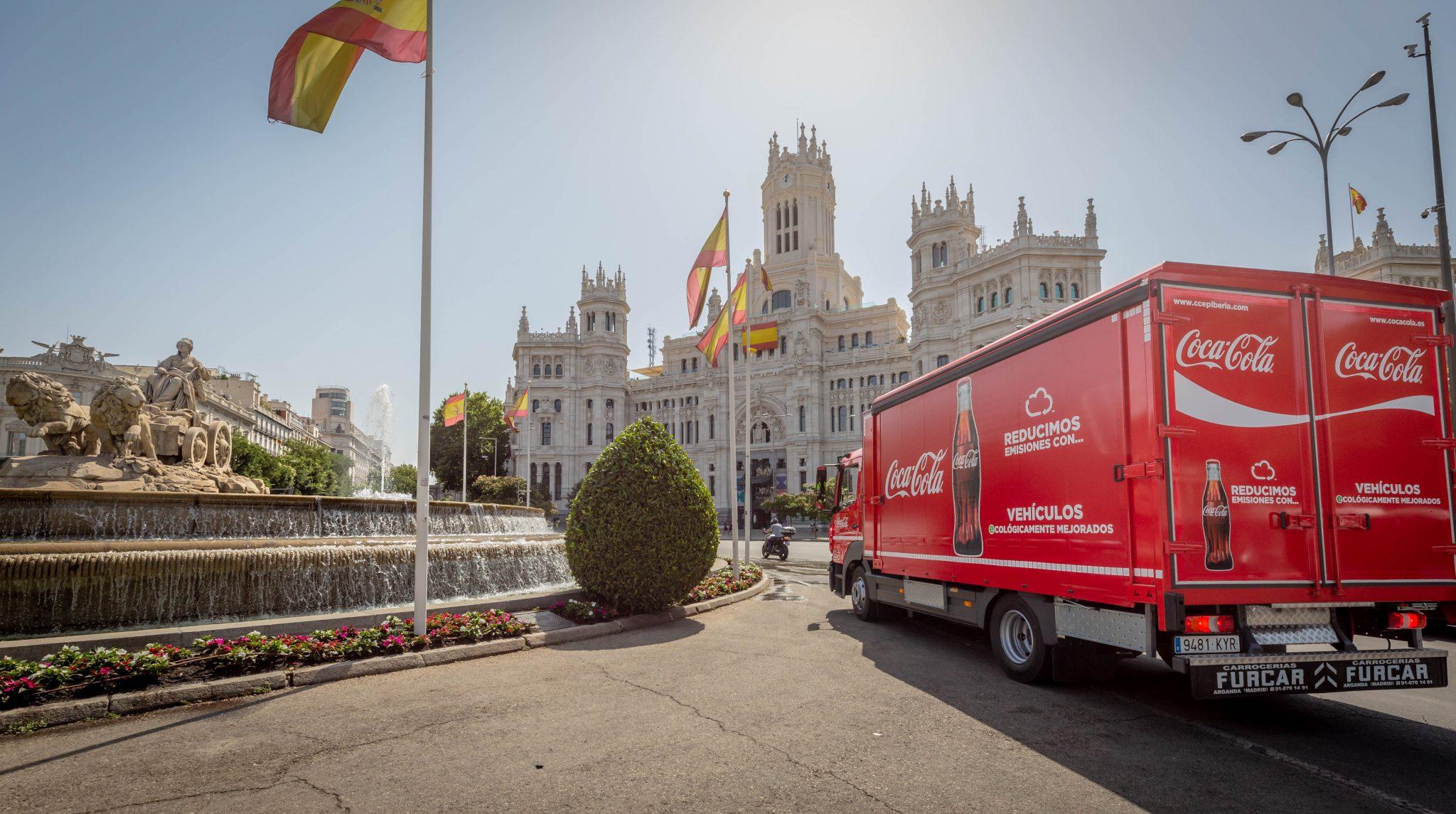 Foto camión Coca-Cola