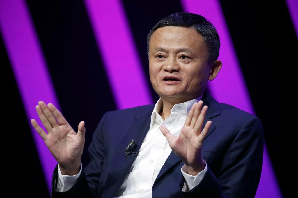 Jack Ma pronuncia un discurso a los participantes durante la 4ª edición de la feria Viva Technology en el Parc des Expositions Porte de Versailles el 16 de mayo de 2019 en París, Francia. Foto: Chesnot (Getty Images)