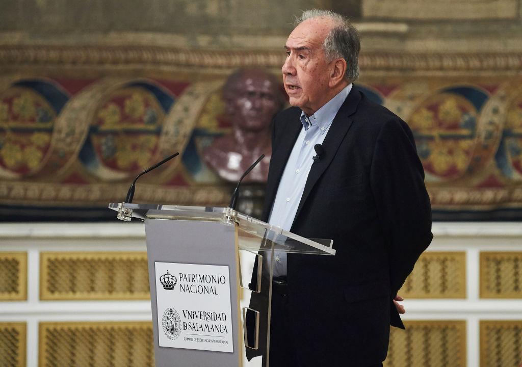El poeta español Joan Margarit fue Premio Reina Sofía de Poesía Iberoamericana en 2019. Foto: Borja B. Hojas (Getty Images)