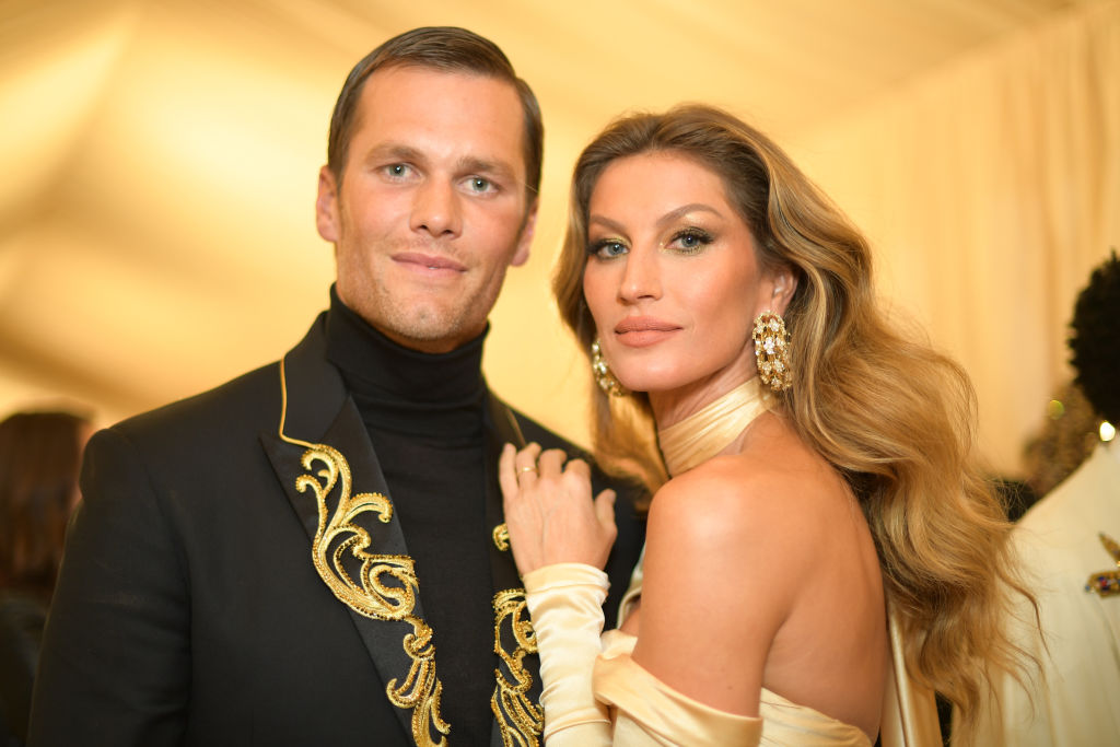 Tom Brady y Giselle Bünchen.
