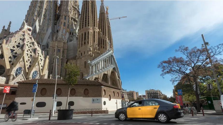 Uber taxis y car-sharing Barcelona