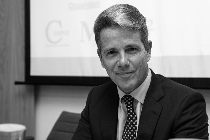 Marcos Sánchez, director gerente de la Junta de Compensación de Valdebebas