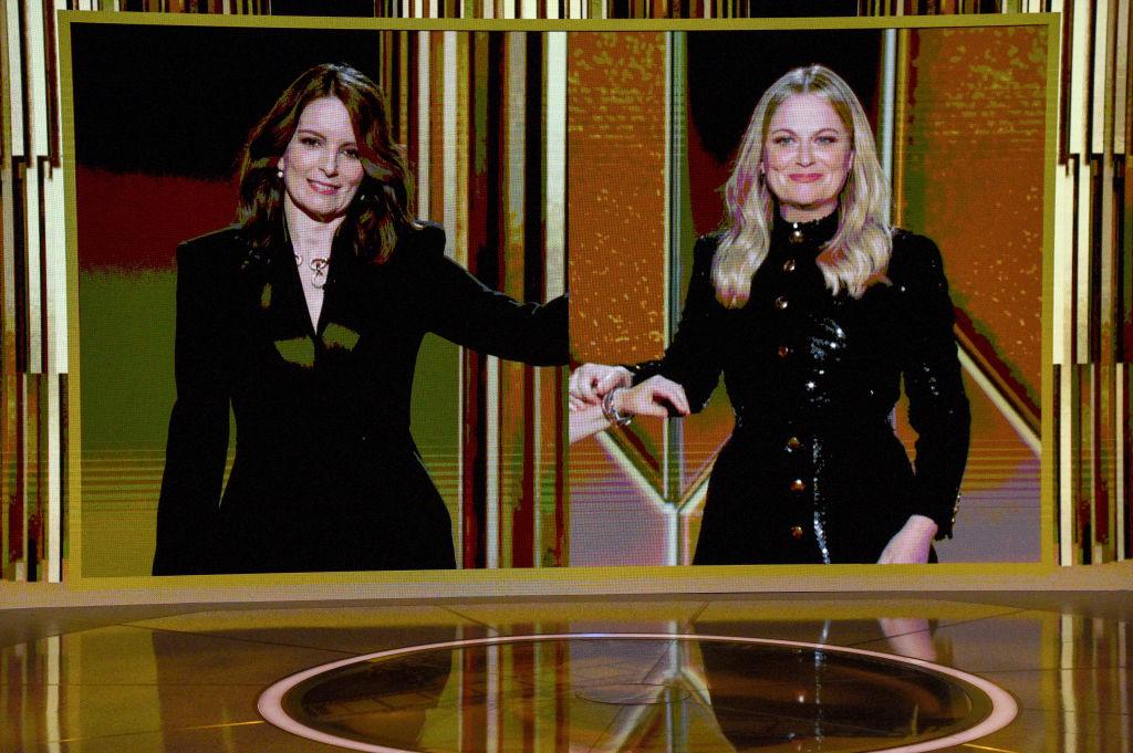 La 78ª edición de los Globos de Oro se ha celebrado desde Nueva York y Los Ángeles y ha estado presentada por Tina Fey y Amy Poehler. Foto: Kevin Mazur (Getty Images para la Asociación de la Prensa Extranjera de Hollywood)