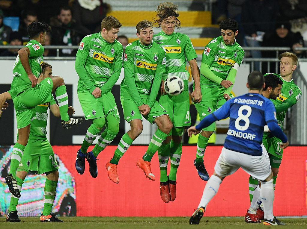 Partido de la Bundesliga entre el SV Darmstadt 98 y el Borussia Moenchengladbach en el Stadion am Boellenfalltor el 21 de enero de 2017 en Darmstadt (Alemania). Foto: Hangst/Bongarts (Getty Images)