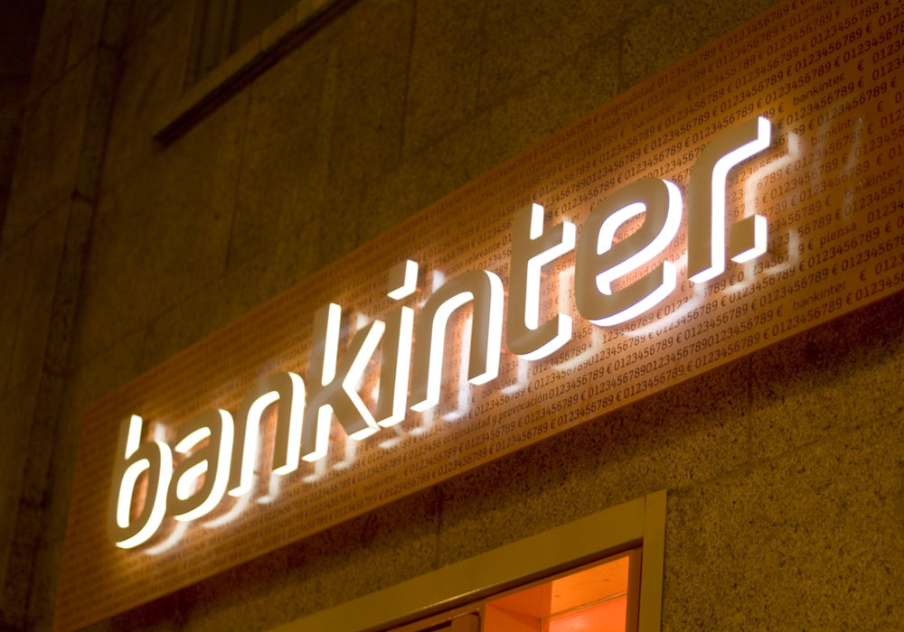 Exterior oficina Bankinter