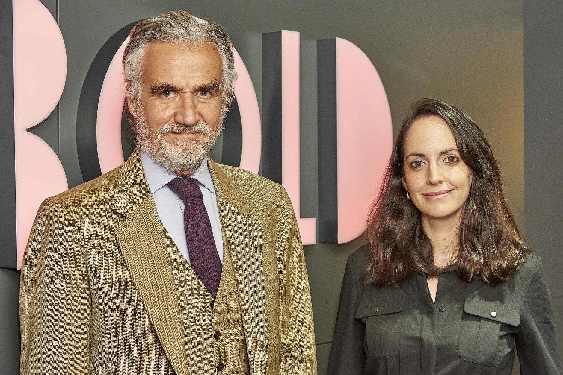 Fernando Rodés, presidente ejecutivo de Rebold, y Andrea Monge, CEO de Rebold.