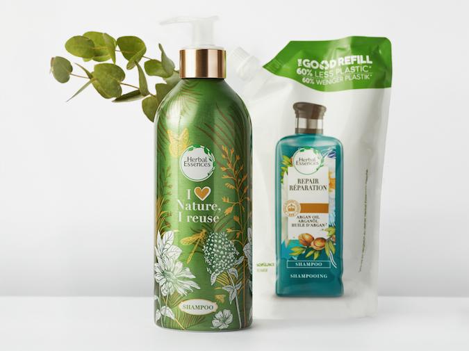 Día Mundial del Reciclaje. Herbal Essences