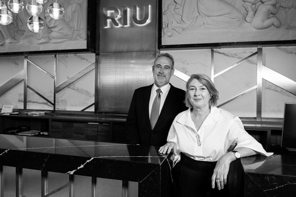 Carmen y Luis Riu, consejeros delegados de RIU Hotels & Resorts