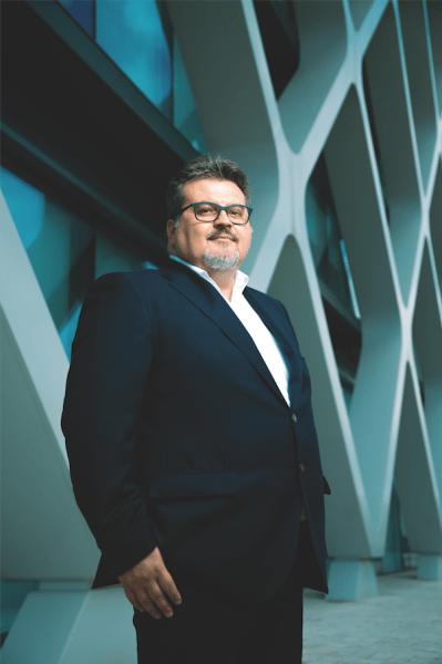 Fabio Capocchi, director de Producto y Operaciones de Lenovo Iberia, retratado por FORBES el pasado 19 de abril. Foto: Patricia J. Garcinuño