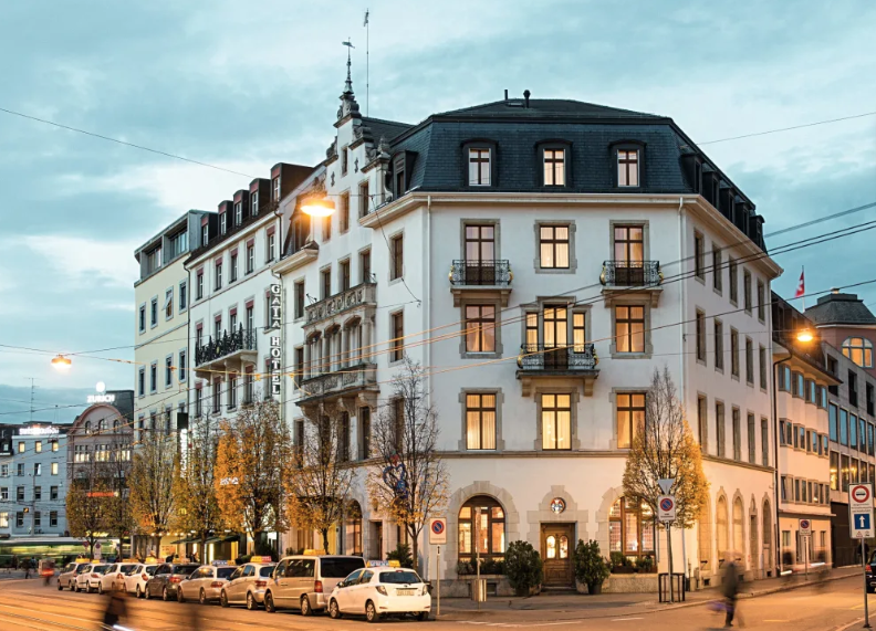 Gaia Hotel****, Basilea. Turismo Suiza
