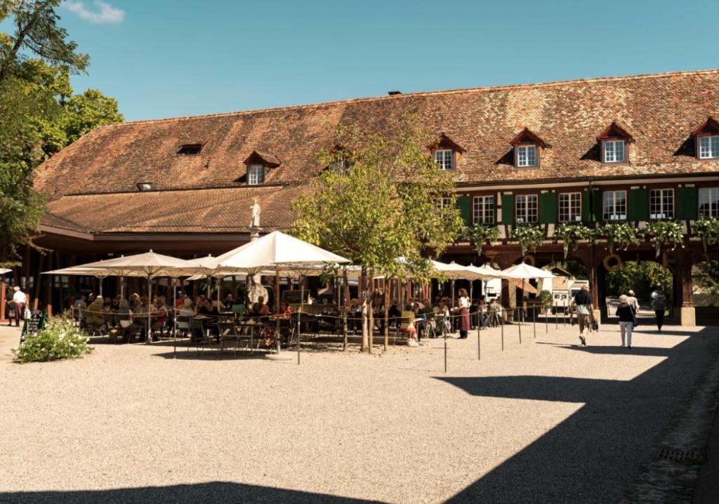 Kartause Ittingen: Restaurant Mühle, Warth-Weiningen. Turismo Suiza