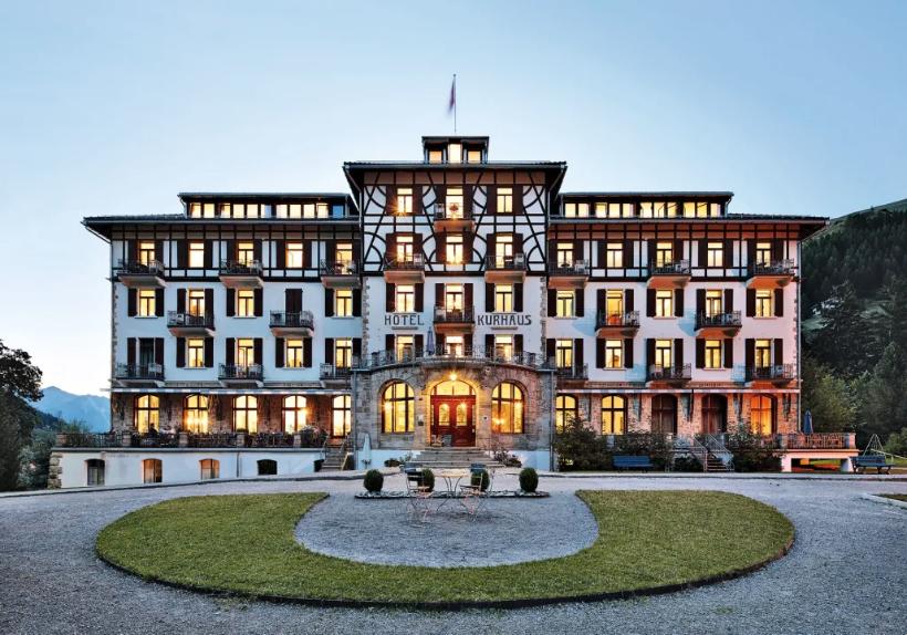 Kurhaus Bergün, Bergün/Bravougn. Turismo Suiza