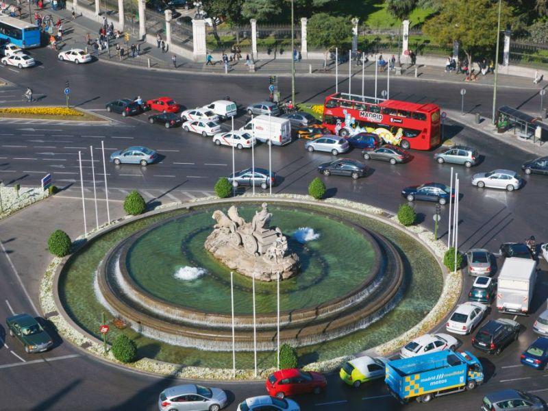 Plaza de la Cibeles, Madrid, Spain. Foto: Ken Welsh/Education Images/Universal Images Group (Getty Images)