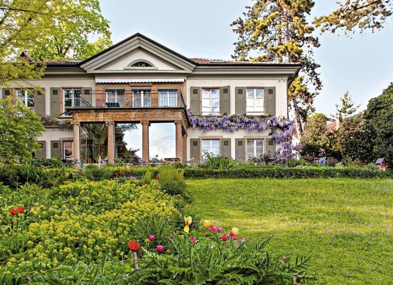 Restaurant Villa Lindenegg, Biel. Turismo Suiza