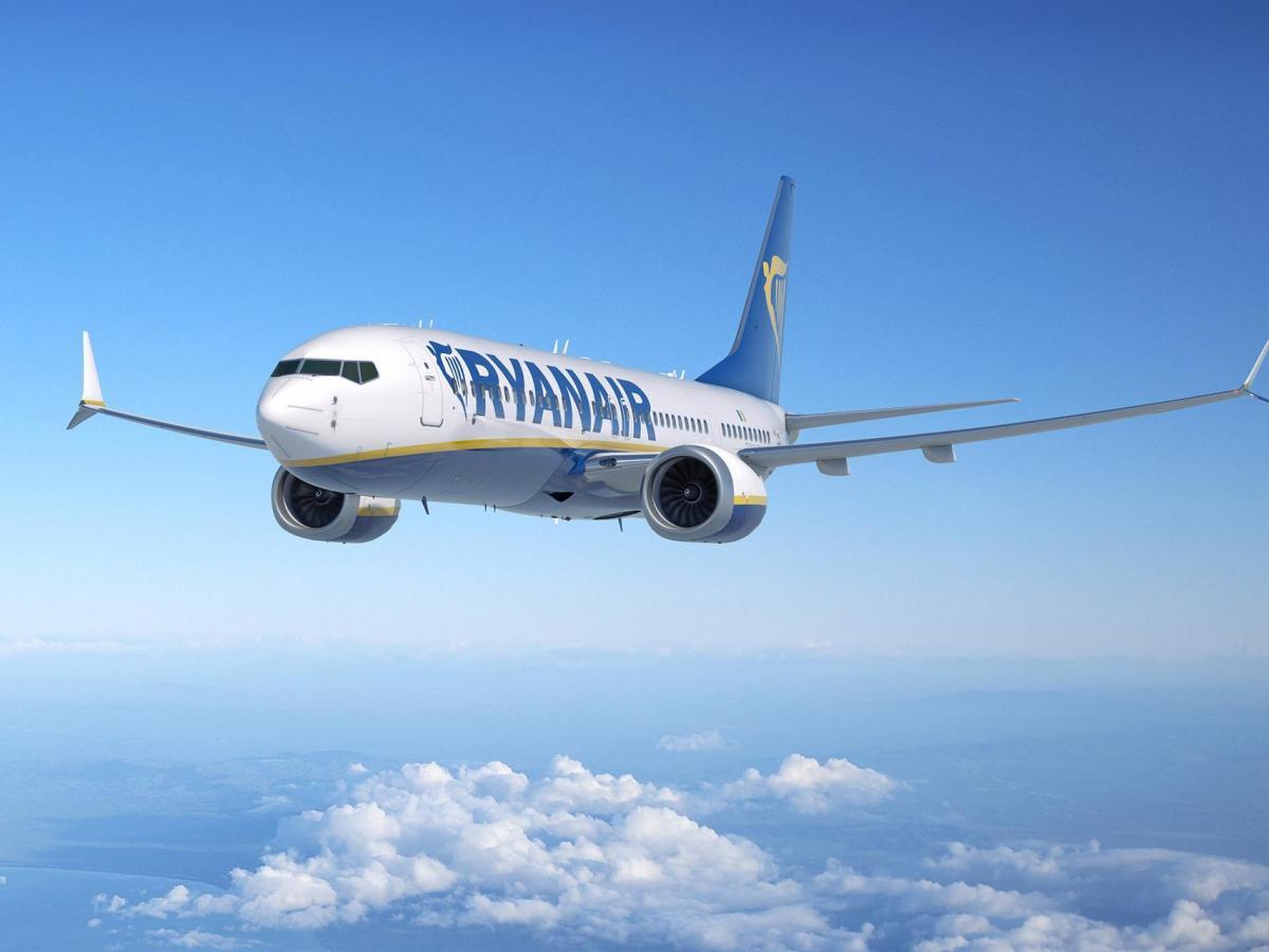 Ryanair. Avión. Foto: EP